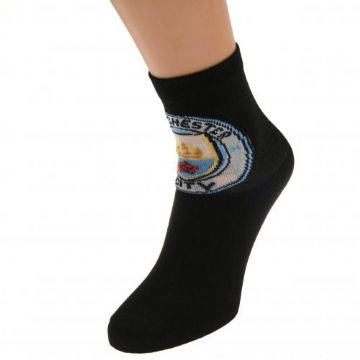 Manchester City Junior Socks. One Pack. Size - 4-6.5